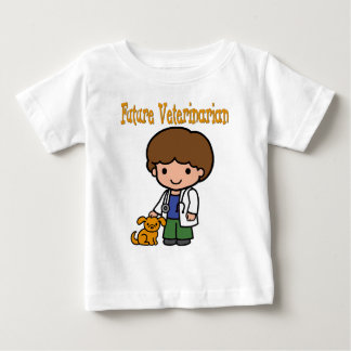When I Grow Up Future Veterinarian Baby T-Shirt