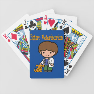 When I Grow Up Future Veterinarian Bicycle Playing Cards