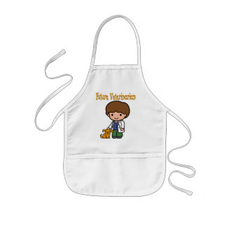 When I Grow Up Future Veterinarian Kids Apron
