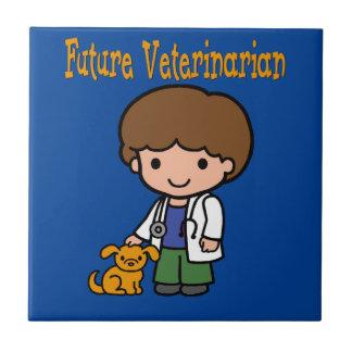 When I Grow Up Future Veterinarian Tile