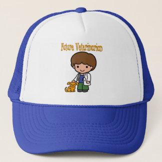 When I Grow Up Future Veterinarian Trucker Hat