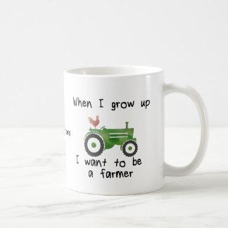 When I grow up I want to be a farmer Coffee Mug