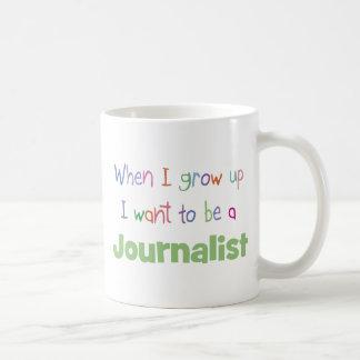 When I Grow Up Journalist Coffee Mug