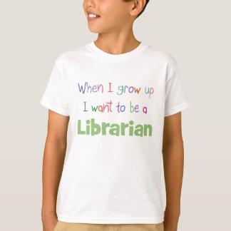 When I Grow Up Librarian T-Shirt
