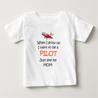 When I grow up Pilot Baby T-Shirt