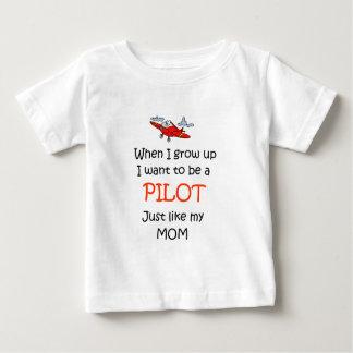 When I grow up Pilot Baby T-Shirt