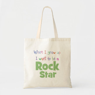 When I Grow Up Rock Star Tote Bag