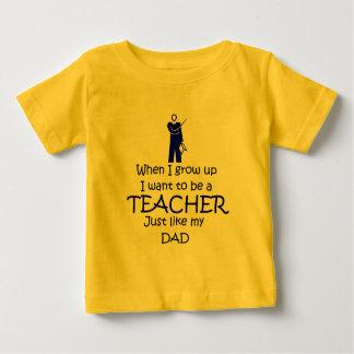 When I grow up Teacher Baby T-Shirt
