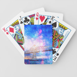 When I Look to the Sky Bicycle Playing Cards