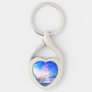 When I Look to the Sky Keychain