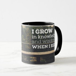 When I Read by Inspirational Downloads Mug