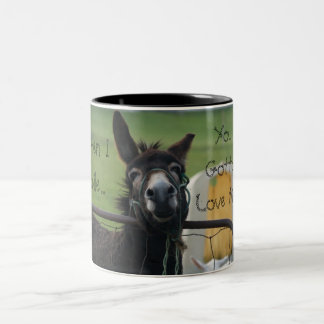 When I Smile Two-Tone Coffee Mug