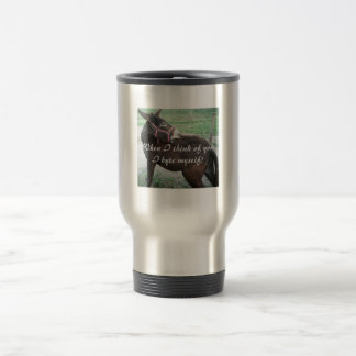 When I think of you Travel Mug