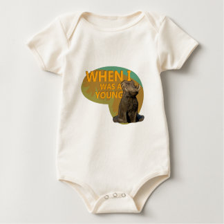 When I was a Young Warthog! Baby Bodysuit