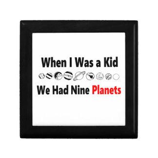 when i was kid we had nine planets gift box