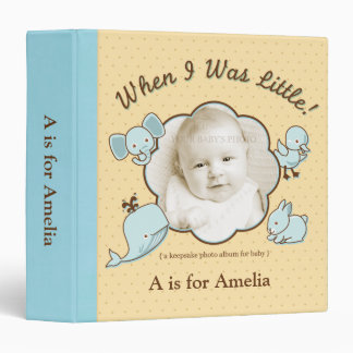 When I Was Little Photo Album averyphotobindercont 3 Ring Binder