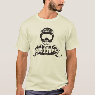 """""""When In Doubt, Throttle Out!"""" Sledders.com Shirt"""