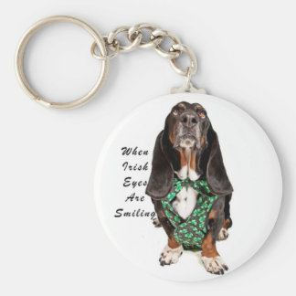 When Irish Eyes are Smiling Keychain