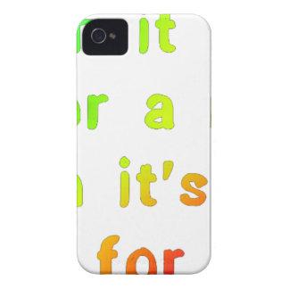 When it rains. iPhone 4 Case-Mate case