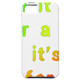 When it rains. iPhone 5 cover