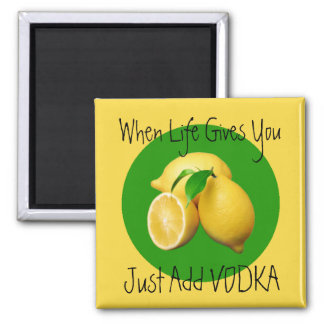 When life give Lemons Humor Magnet
