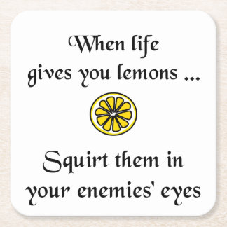 When Life Gives You Lemons Coaster