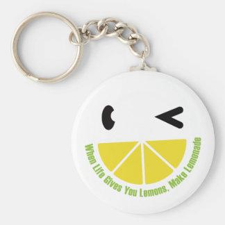 When Life Gives You Lemons, Make Lemonade Keychain