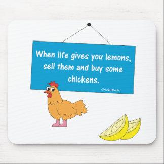 When Life Gives You Lemons Mousepad