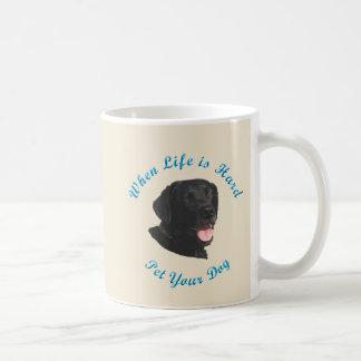 When Life Is Hard (Labrador Retriever) Coffee Mug