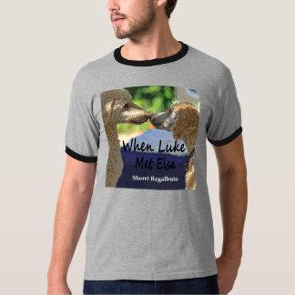 When Luke Met Elsa, men's T. T-Shirt