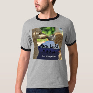 When Luke Met Elsa, men's T. Tee Shirts