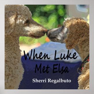 When Luke Met Elsa Poster