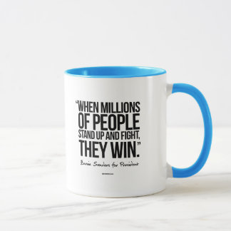 When Millions of People Stand up Mug