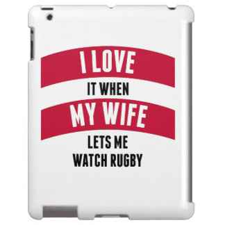 When My Wife Lets Me Watch Rugby