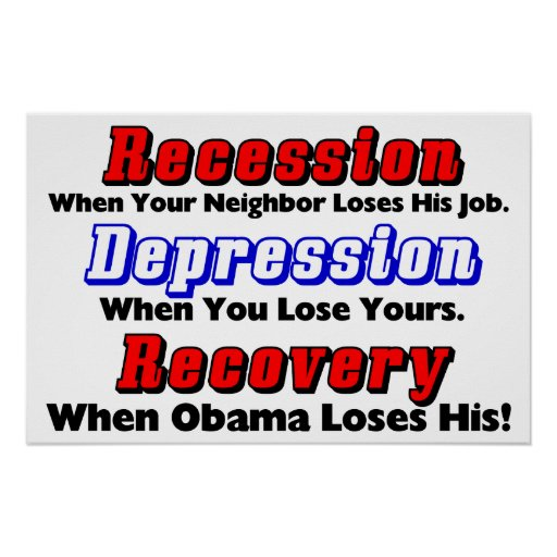When Obama Loses His! Poster