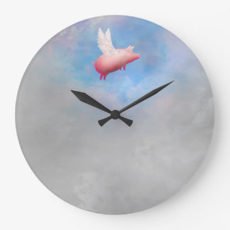 when pigs fly clock