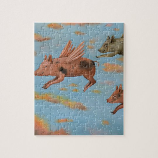 When Pigs Fly Jigsaw Puzzle
