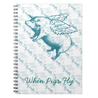 When Pigs Fly Notebooks
