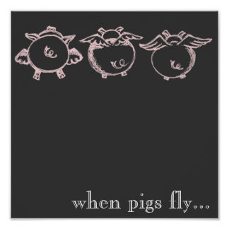 When Pigs Fly... Poster