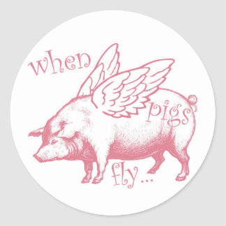 When Pigs Fly, Whimsical Stickers