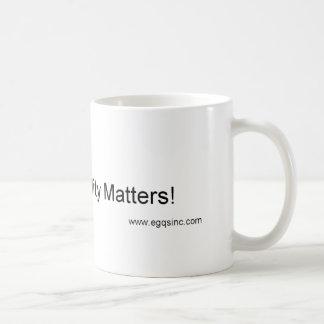 When Quality Matters Coffee Mug