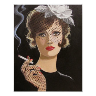 WHEN SMOKING WAS FASHIONABLE, POSTER
