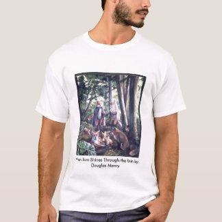 When Sun Shines Through the Rain by D... T-Shirt
