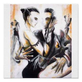 When Tango meets painting Poster