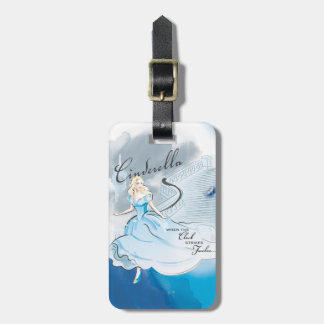 When The Clock Strikes Twelve Luggage Tag