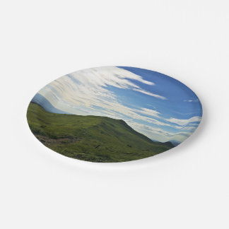 When The Earth Reaches The Sky In Bieszczady Paper Plate