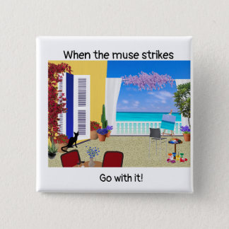 """When the muse strikes"" button"