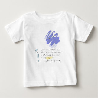 """When the stars look back at us"" Baby T-Shirt"
