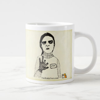 When The Universe Closes A Door, Get Your Fingers Large Coffee Mug