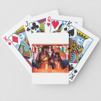 When Warriors Turn To Lovers Bicycle Playing Cards
